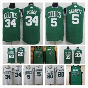 Vintage Paul Pierce 34 Larry Bird 33 Kevin Garnett de Boston 5 KG
