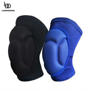 esponja engrosada Dance Dance anticolisión de rodillas voleibol rodilleras deportes anticolisión rodilla almohadillas Xf3c8