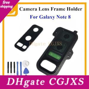 New Voltar Rear Camera Lens Vidro Com suporte do quadro capa para Samsung Galaxy Nota 8 N950 N950f Universal Peças de reposição 1pcs
