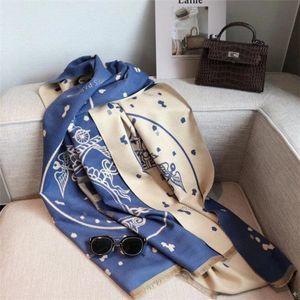 2020 Femmes d'hiver de luxe de haut de gamme 100 Scarfs% cachemire écharpe Letterbox mode classique Châles Echarpes Plaid avec boîte vente Hot