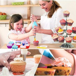 Cake Decoration 82PCS Set Baking Tool Set Stainless Steel Nozzle Cream Scrapers Pastry Bag Icing Piping Converter DIY Cream