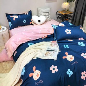 Home Bedding Set Sheets Bedspread for The Bed Duvet Cover Set Surface Grinding Process Skin Soft Queen Size Full Bedrooms
