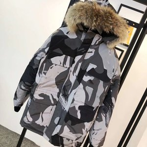 2020 nouveaux amants draps en coton veste tendance de la mode en coton de marque de veste en duvet des hommes d'hiver oie chaleur épaisse veste en duvet imperméable à l'eau
