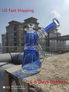 Master Часть 8 дюймов 20см Кальян Durable Water Pipe Glass Bong Bubbler Waterpipe Bongs США Доставка