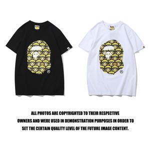 2019 Summer New Street Fashion Brand Оптовая Joint имя Наруто Печать Мужчины и женщины Пара All-хлопок футболки