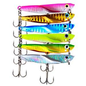porti notizie di intrattenimento metallo Vib lama Lure 11/15 / 21g 5.5 / 6/7 centimetri affondamento vibrazioni esche artificiali Vibe per Bass Fishing Pike Perch L ...