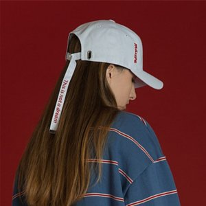 j97nv Hat Women's Korean style trendy spring and capEmbroidered baseball capsummer cap embroidered letter long band adjustable men's leisure