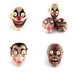 tERjv Terrorist lustig Rotten Grimasse Geist Corpse Latex Maske Hallowmas Trick-Spiel-Spielzeug-Maske Karneval-Partei-Erscheinen-Maske für Halloween Prop
