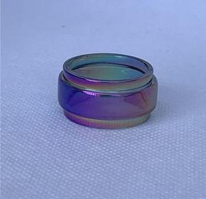 Arcobaleno tubo di vetro convesso Fatboy Per Digiflavor Siren 2 22 millimetri MTL GTA atomizzatore Hellvape Rinascita Morto coniglio V2 RTA 2ml serbatoio di ricambio