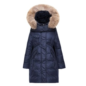 Girls Winter Down Coat Children Jacket Warm Kids Snowsuit Baby Clothes Kids Parkas Coat For Girl Outwear Children Clothing 3-10Y