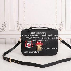 Metils مصمم المحافظ حقيبة نسائية Pochette Messenger Bag for Women's Style Designer Handbag Crafty Craft Metis محفظة مع صندوق Skbeb