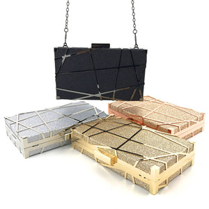 Evening Bags Clutches for Women Fashion Ladies Luxury Tassel Purse Wedding Party Women Bags Gold black