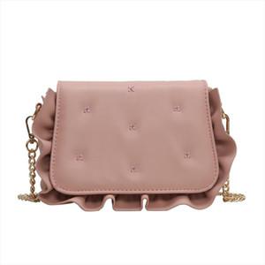 Elegant Female Flap Square Bag 2020 Fashion New High Quality PU Leather Womens Designer Handbag Shoulder Messenger bag