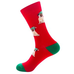 Factory Direct Sales 2020 Autumn And Winter New Christmas Socks Casual Home Warm Cotton Sweat-Absorbent Christmas Socks