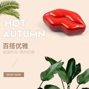 NICE FACE new flaming red lip acrylic clutch dinner bag fashion shoulder crossbody women's bag