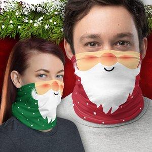 máscaras DHL envía Navidad al aire libre de múltiples funciones pañuelo en la cabeza sin problemas diadema bufanda pañuelos ciclismo máscaras mágicas esqueleto pañuelo de las máscaras del partido