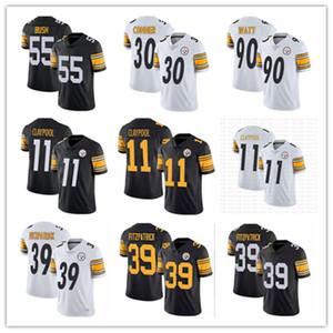 PittsburghSteeler 90 TJ Watt 19 JuJu Smith-Schuster 39 Minkah Fitzpatrick 55 Devin Bush forması 30 James Conner Chase Claypool