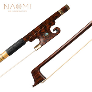 NAOMI Master Snakewood Скрипка Bow Полный размер W / Paris Eye Snakewood Frog 4/4 Скрипка Bow