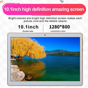 10.1inch Business Tablet with MT6582 Quad-Core Processor 1280X800 Resolution 1GB+16GB Memory 2G 3G(EU Plug)