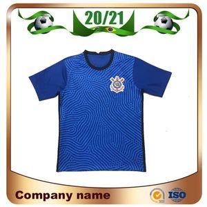 uniforme de futebol New 2020 Corinthian Paulista azul Soccer Jersey 20/21 Paulista nº 10 JADSON Futebol camisa PABLO BALBUENA ROMERO Brasil Clube