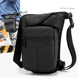 Multifunctional Outdoor Waist Bags Drop Leg bag Casual Outdoor Travel Motorcycle Cycling Nylon Riding Bag Mobile Phone Bags England Style