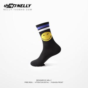 Summer thin ins super hot socks trendy street hip hop skateboard long cotton chic men and women couple socks