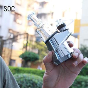 SOC original Enail Starter Kit SOC 2600mah TC Vape Mod con cera atomizador Concentrado Destruir Budder Dabber Rig
