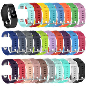 Для Fitbit Charge 2 Charge2 Наручные полосы TPE ремни носимого браслета диапазона смарт замена силиконовый браслет 21 цветов