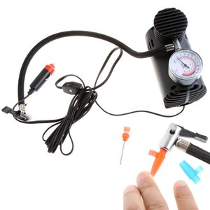 Portable Car Auto 12V Electric Air Compressor Tire Inflator 300PSI Car Styling Car Accessories