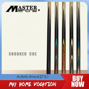 Uzatma Bilardo Çubuk Takımı Siyah 8 ile Orijinal MASTER PB Serisi Snooker Cue Tek Parça Cue Kül Miller El yapımı Masif