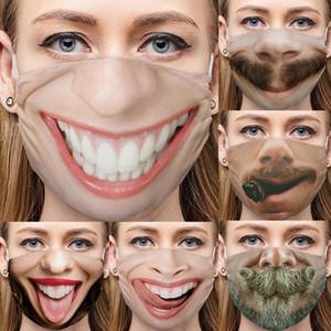 passeios ao ar livre à prova de poeira máscara protetor solar esportes máscara lenço na cabeça expressão face quente bib máscara protetora Halloween