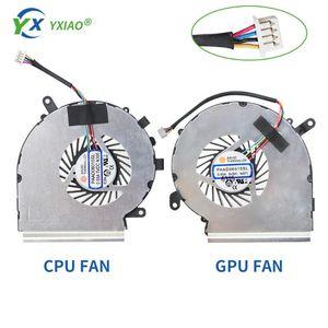Новый GPU Ноутбук охлаждения процессора Cooler Вентилятор для MSI GE62 GL62 GP62 GE62 MS-16 16J4 16J5 16J8 для 4 линии FAN PAAD06015SL-N366 N371