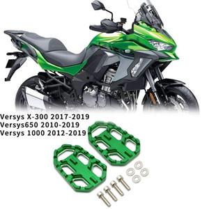 Motocicleta pie ancho Peg Foot Pegs reposapiés para VERSYS-X300 VERSYS 650 VERSYS 1000 2010-2020