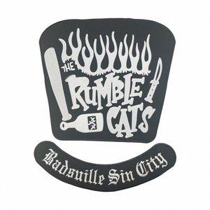 HOT 세일 RUMBLE CATS 오토바이는 대형 BACK PATCH CLUB VESTOUTLAW BIKER MC PATCH 무료 배송 TXnz 번호를 COOL