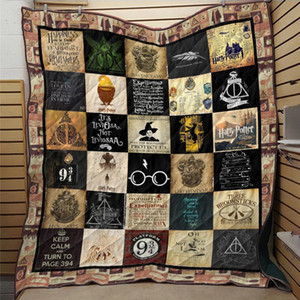 SOFTBATFY 3D Printed Одеяло Одеяло для кровати Мягкая Dropshipping LJ200826