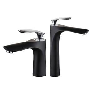 WANFAN New Bassin-Hahn-Wasser-Hahn-feste Badezimmer warmes und kaltes Wasser-Messingmischer-Wannen-Mischer S79-425