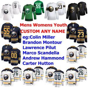 Buffalo Sabres jerseys para mujer de Victor Olofsson Jersey Evan Rodrigues Conor Sheary Vladimir Sobotka Jimmy Vesey hockey jerseys cosido personalizada