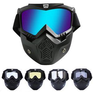 Kadınlar Goggles Yeni Kayak Snowboard Kayak Açık 2020 Motosiklet Snowboard Yarışları Gözlük Spor Motokros Marka Güneş gözlükleri AESA Maske