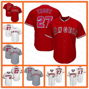 17 Shohei Ohtani Jersey Angels 27 Mike Trota 6 Anthony Rendon 2 Andrelton Simmons 15 Jason Castro 57 Hansel Robles 31 TY BUTTREY