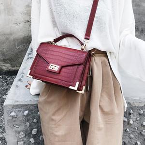 Hot Femme Tote Bags for Women 2020 fashion Luxury Handbags Women Bags Designer Alligator Leather Female Shoulder Messenger Bag Sac A Main