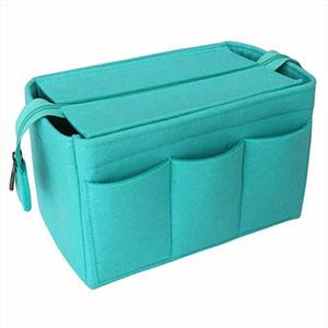 Kozmetik Organizatör Çanta yukarı takın Çanta İçin Çanta Seyahat İç Çanta Taşınabilir Make Keçe MM GM PM Speedy uyar