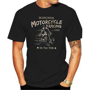 2019 venta caliente 100% de algodón de la motocicleta Oldschool Embalamientos la camiseta del corredor del café Ninet R Ninet Scrambler Tees Camiseta