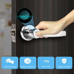 système d'accès porte Towode gauche poignée droite intelligente Unlock 360 degrés Accueil Sécurité Système Serrure Contrôle d'accès Anti-vol