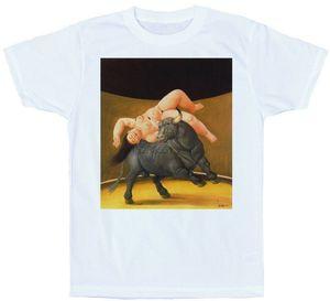 Fernando Botero rapto De Europa Boyama Gençlik Orta Yaş Yaşlı için Tee T Gömlek T-Shirt