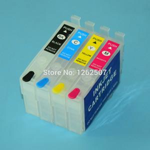 T212 T212XL 212XL XP4100 XP4105 WF2850 WF2830 Cartucho de tinta recarregável para XP-4100 XP-4105 WF-2830 WF-2850 Impressora Não Chip