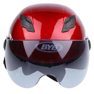 Sport Racing Motorcycle Helmet Dirt Bike Accessories Red+Tawny