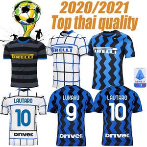 20 21 maison Inter loin 3ème maillot de football LAUTARO ALEXIS PERISIC milan Maillot de foot 2020 2021 adultes POLITANO BARELLA de pied MAILLOT