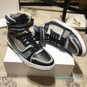 Nueva Riefsaw Trainer para hombre de la zapatilla de deporte de arranque zapatos de época zapatos cómodos de lujo -Up los hombres con cordones Zapatos Zapatos de marque De Luxe Pour c12