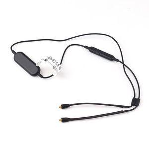Cgjxs más nuevo de Bluetooth Cable RMCE -BT1 alambre alejado del mic Música llamadas Rendimiento legendario Negro 0 .82m Para SE535 SE425 SE315 SE215 Se846 SE21