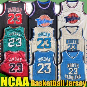 NCAA Северной Каролины Tar Heels 23 Майкл Джерси Деннис Родман Скотти Пиппен баскетбол Джерси пережиток College Basketball Джерси